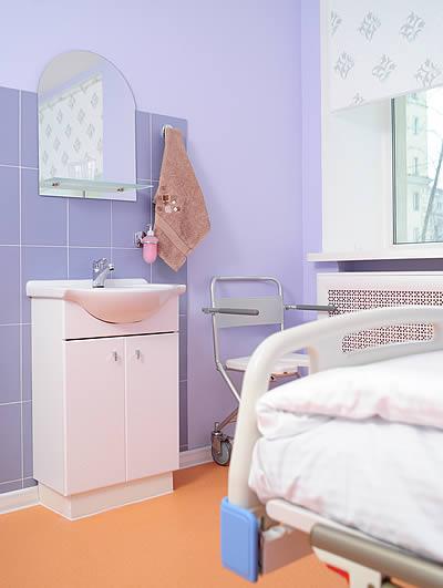 палата с ванной