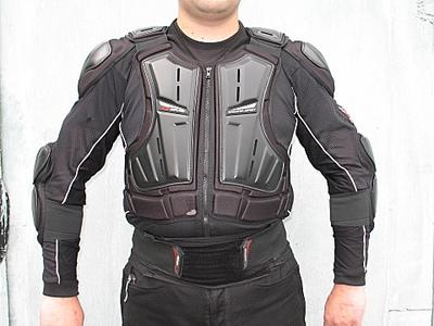 защита мотокуртки спереди