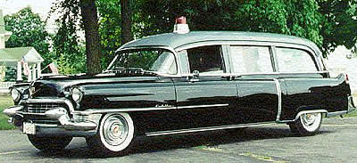 Кадиллак скорая помощь / катафалк1955 года