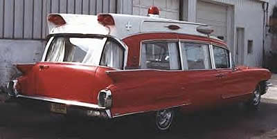 USA Cadillac 1962 ambulance