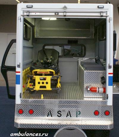 США Скорая помощь вездеход 4х4 (USA ambulance)