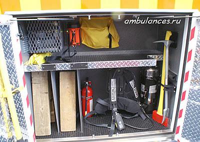 США Скорая помощь инструмент пожарной охраны и спасательный (USA ambulance)