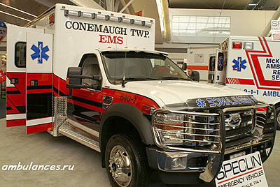 США Скорая помощь Тип 1  (USA Typ 1 ambulance)
