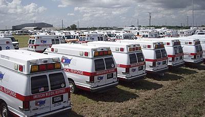 Скорая помощь США на шасси микроавтобуса