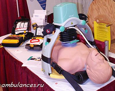 США автоматический массажер для непрямого массажа сердца Lucas  (USA Lucas cardiopump)