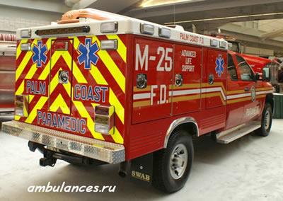 пожарно-медицинские машины с отсеком для пациента и парамедиков