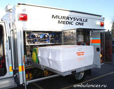 США Скорая помощь пожарной охраны  (USA ambulance)