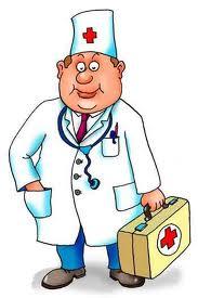 пациент у врача рисунок